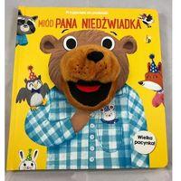 Książki dla dzieci, Przyjaciele do poduszki. Miód Pana Niedźwiadka (opr. kartonowa)