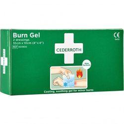 Żel na oparzenia Burn Gel Dressing, 2 kompresy 10x10 cm