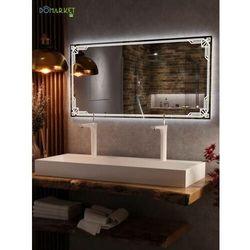 Lustro z oświetleniem ledowym do łazienki: VEGAS-04