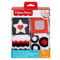 Pozostałe zabawki edukacyjne, Fisher Price Miękkie klocki sensoryczne