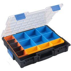 Prafesjonalna walizka na drobne elementy, 10 schowków