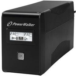Ups Power Walker Line-interactive 650va 2x Schuko Out, Rj11 In/out, Usb, Lcd