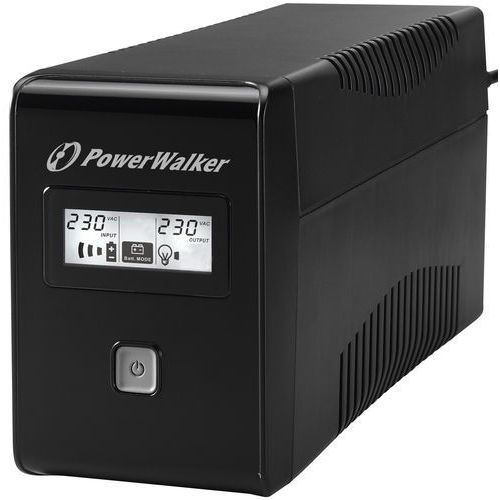 UPSy, Ups Power Walker Line-interactive 650va 2x Schuko Out, Rj11 In/out, Usb, Lcd