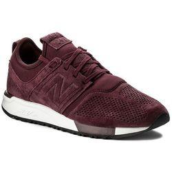 Sneakersy NEW BALANCE - MRL247LR Bordowy