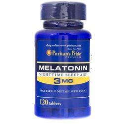 Puritan's Pride Melatonina 3 mg - 120 tabletek