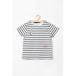 T-shirt niemowlęcy w paski 5I3805 Oferta ważna tylko do 2031-02-26