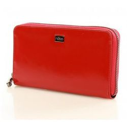 Duży portfel piórnik NP0110A Red - Nobo