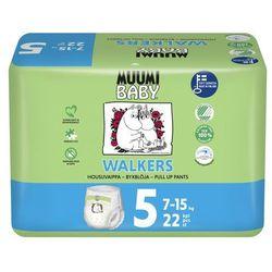 MUUMI BABY pieluchy Walkers 5 Maxi+ 7-15 kg (22 szt)