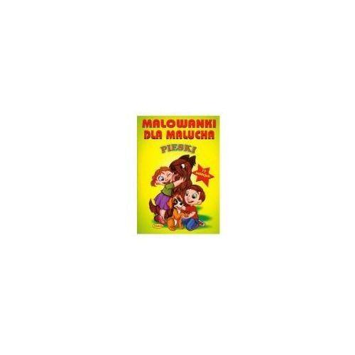 Książki dla dzieci, MALOWANKI DLA MALUCHA PIESKI (opr. broszurowa)