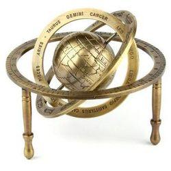Mosiężne Astrolabium sferyczne