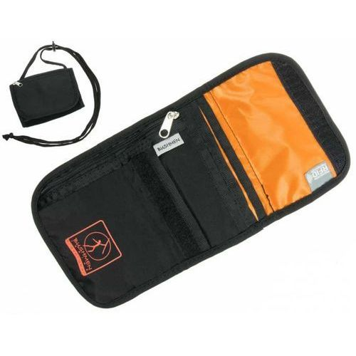Paszportówki, Paszportówka portfel turystyczny BUSHMEN z systemem RFID *czarny
