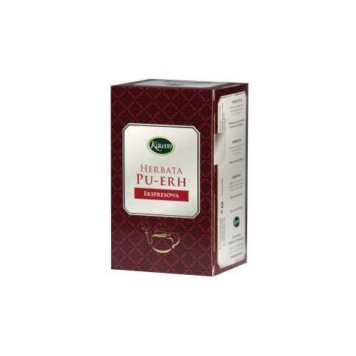 Herbaty ziołowe, Herbata PU-ERH express 20*2g KAWON