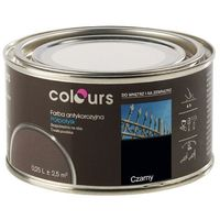 Farby, Farba antykorozyjna Colours czarna 0,25 l