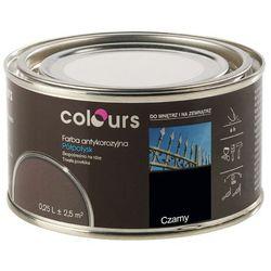 Farba antykorozyjna Colours czarna 0,25 l