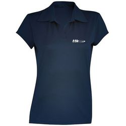TTK POLO WOMAN CAPSULE NAVY - koszulka tenisowa R. XL