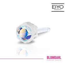 Kolczyk do przekłuwania uszu Blomdahl - Rainbow 4 mm