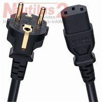 Kable audio, Oehlbach Powercord C13 1.5m - Dostawa 0zł!