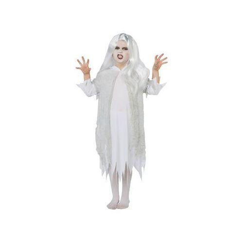 Kostiumy dla dzieci, Kostium Duch z peruką dla dziewczynki - Roz. M