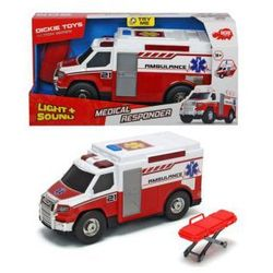 Ambulans czerwony, 30 cm. Darmowy odbiór w niemal 100 księgarniach!