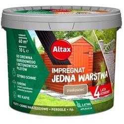 Impregnat Altax Jedna Warstwa drewno/beton piaskowiec 10 l