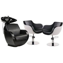 Zestaw Mebli Fryzjerskich Thomas Myjnia + 2 Fotele