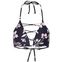 Stroje kąpielowe, BILLABONG Góra bikini kremowy / ciemnoszary / różowy pudrowy