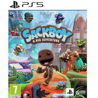 Gry na PS5, Sackboy A Big Adventure (PS5)