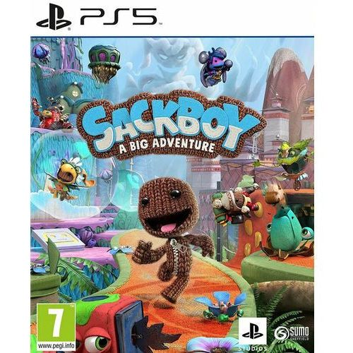 Gry na PlayStation 5, Sackboy A Big Adventure (PS5)
