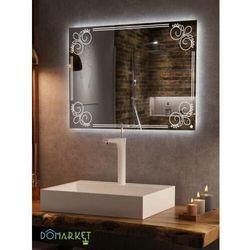 Lustro z oświetleniem ledowym do łazienki: ALISA-02