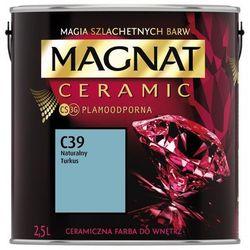 Farba Ceramiczna Magnat Ceramic C39 Naturalny Turkus 2.5l