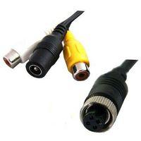 Kable i przewody samochodowe, NVOX C010 KABEL 4PIN CHINCH Kabel przejściówka ze złącza 4PIN na chinch