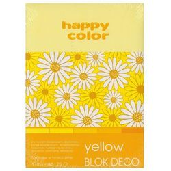 Blok Deco A5/20 kartek Yellow