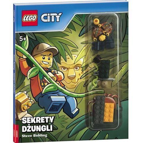 Książki dla dzieci, Lego City Sekrety dżungli - Behling Steve (opr. twarda)