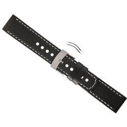 Pasek Suunto Elementum Terra - Black Leather Strap