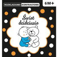 Książki dla dzieci, ROZKŁADANKI KONTRASTOWE Świat dzidziusia 6M+ (opr. twarda)