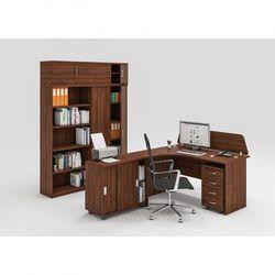 Zestaw mebli biurowych MIRELLI A+, typ C, orzech
