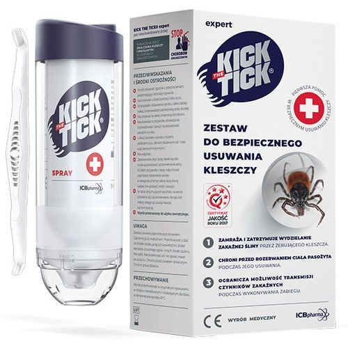 Środki i akcesoria przeciwko owadom, KICK TICK EXPERT zestaw do usuwania kleszczy