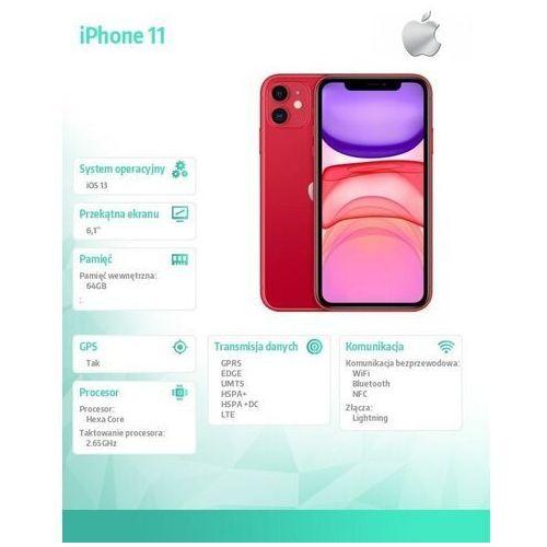 Smartfony i telefony klasyczne, Apple iPhone 11 64GB
