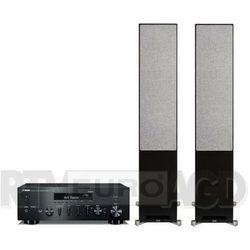 Yamaha MusicCast R-N602 (czarny), Elac Debut Reference DFR52 (czarny/orzech)