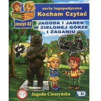 Książki dla dzieci, Kocham Czytać Zeszyt 42 Jagoda i Janek w Zielonej Górze i Żaganiu (opr. miękka)