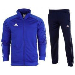 Dres kompletny Adidas meski spodnie bluza Core 18 CV3564 / CV3585