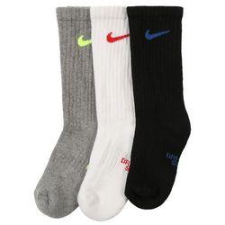 NIKE Skarpety 'Cushioned Crew Training Socks (3 Pair)' szary / czarny / biały
