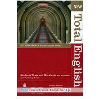 Książki do nauki języka, New Total English Flexi Intermediate Course Book 1 (podręcznik z ćwiczeniami) (opr. miękka)