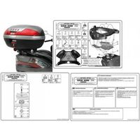 Stelaże motocyklowe, GIVI E531 STELAŻ KUFRA CENTRALNEGO SUZUKI BURGMAN 400 K7-K8-K9-L0-L1-L2-L3 (06-13)