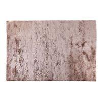 Dywany, Dywan shaggy DOLCE szarobrązowy z beżowym połyskiem - poliester - 140 * 200 cm