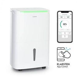 Klarstein DryFy Connect 50, osuszacz powietrza, Wi-Fi, kompresja, 50 l/24 h, 45–55 m2, biały