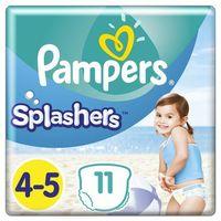 Majtki dziecięce, Pampers Splashers, R4-5, 11 jednorazowych pieluch do pływania