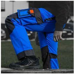 Spodnie robocze 245 g/m2 R50 WZMOCNIONE NIEBIESKO-CZARNE Doktorvolt 2100