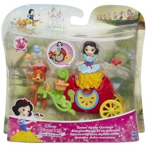 Figurki i postacie, Disney Princess Pojazd Księżniczki Śnieżka - Hasbro