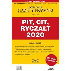 PIT CIT Ryczałt 2020 - Praca zbiorowa (opr. miękka)